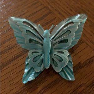 Jewelry - Vintage blue butterfly 🦋 brooch